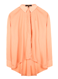 Chic Placket Button Down Top