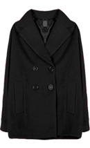 Oversized Pea Coat