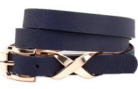 Faux Leather X Belt