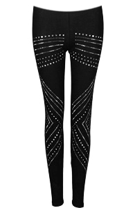 Studded Shield Leggings