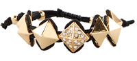 Pyramid Stud Friendship Bracelet
