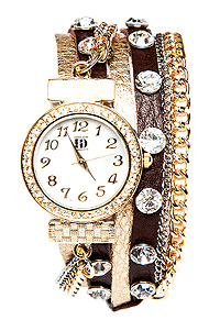 Elegant Wrap Watch