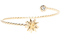 Twisted Star Burst Bracelet