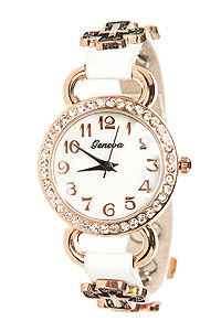 Cross Embellished Watch