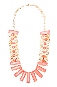 Jumbo Baguette Necklace