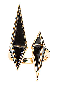 3D Spike Stud Ring