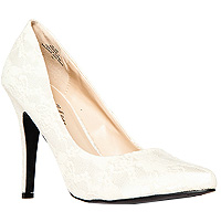 Lace Party Pumps