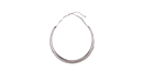 Liquid Silver Collar Necklace