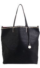 Studded Top Tote
