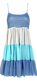 Tiered Ombre Dress