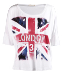 English Flag Printed Tee