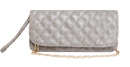 Long Quilted Clutch