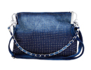 Studded Ombre Denim Purse