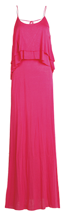 Low Back Ruffle Maxi