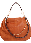 Chic Braided Strap Hobo Bag