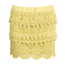 Fiesta Lace Tiered Skirt