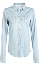 Two Pocket Chambray Shirt