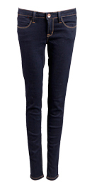 Stitched Stretch Jeans