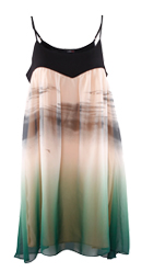 Brushstroke Trapeze Dress