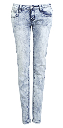 Acid Wash Chic Jeans
