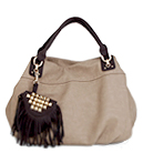 Fringe Pouch Hobo Bag