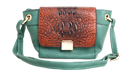 Reptile Flap Purse