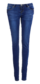 Medium Blue City Skinnies