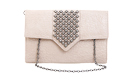 Arrow Studded Envelope Clutch