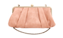 Powder Pleated Clutch