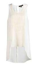 Knife Pleated Sleeveless Top