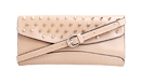 Studded Flap Envelope Clutch