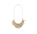 Fancy Fringe Necklace