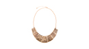Striated Collar Necklace