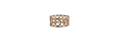 Overlapping Ring Cuff
