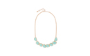 Mint Druzy Stone Necklace