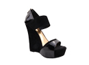 Black Skyhigh Wedges