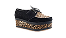 Animal Print Creepers