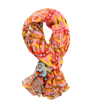 Colorful Tribal Print Light Scarf