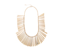 Fragmented Tassel Statement Necklace