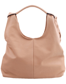 Tan Pebble Hobo Bag