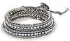 Beaded Box Chain Wrap Bracelet