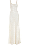 Sheer Lace Maxi Dress