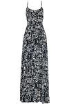 Island Floral Maxi Dress