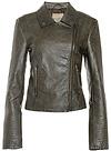 BB Dakota Dita Vegan Leather Moto Jacket