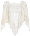 RAGA Crochet Lace Poncho