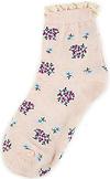 Floral Frill Socks