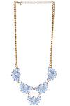 DAILYLOOK Bejeweled Petals Statement Necklace