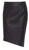 MINKPINK Ready To Start Vegan Leather Skirt