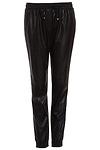 Line & Dot Vegan Leather Sweatpants