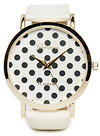 Polka Dots Face Watch